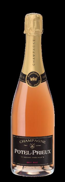 Champagne Potel Prieux Brut Rosé